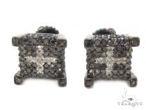 Prong Diamond Earrings 35296 Black Diamond Earrings
