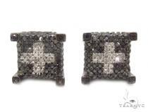 Prong Diamond Earrings 35311 Black Diamond Earrings
