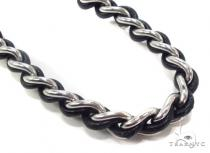 Mens Stainless Steel Chain 24 Inches 8mm 59.4 Grams Stainless Steel Chains
