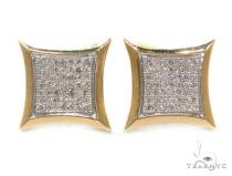 Micro-Pave Diamond Earrings 35430 Mens Diamond Earrings