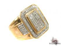 Micro-Pave Diamond Ring 35456 Mens Diamond Rings