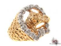 Prong Diamond Ring 35465 Mens Diamond Rings