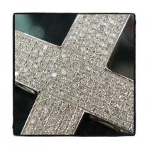 Hip Hop Swagga Cross Mens Diamond Cross