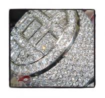 Invisible Round XL Ring メンズ ダイヤモンド リング