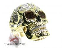 Raider Skull Ring Mens Diamond Rings