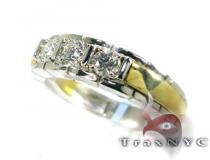 3 Stone Diamond Ring メンズ ダイヤモンド 結婚指輪
