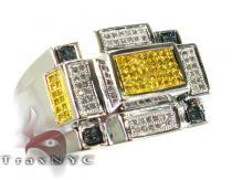 M.C. Rectangle Ring Mens Diamond Rings