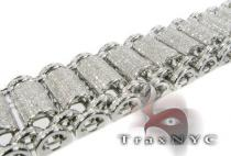 Pave Bubble Bracelet Mens Diamond Bracelets