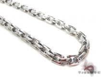 Stainless Steel Chain 24 Inches 6mm 74.80Grams Stainless Steel