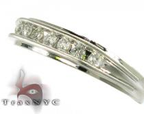 Stunning but Classy Mens White Gold Diamond Wedding Ring メンズ ダイヤモンド 結婚指輪