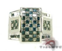 Blue Brolik Ring メンズ ダイヤモンド リング