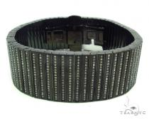 Prong Diamond Stainless Steel Bracelet 35675 Stainless Steel Bracelets