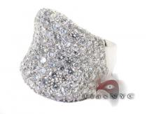Ladies Pave Ball Room Ring Featured Rings