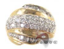 Yellow Gold Orb Ring レディース ダイヤモンド リング