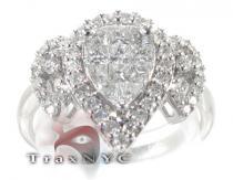 Grand Tear Ring レディース ダイヤモンド リング