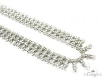 3 Row Prong Diamond Chain 35858 Diamond Chains