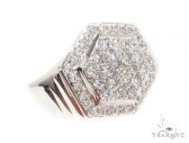 CZ Silver Ring 35968 Metal