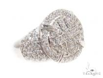 CZ Silver Ring 35976 Metal