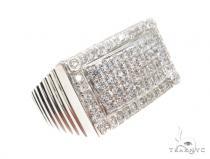 CZ Silver Ring 35983 Metal