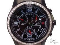 Mens Gucci Timeless Chrono Diamond Watch Gucci グッチ