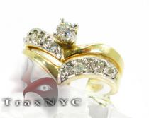 Ladies PR Band Diamond Wedding Sets