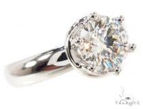 Solitaire Engagement Ring 36109 ダイヤモンド 婚約 結婚指輪