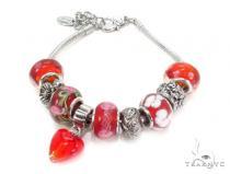 CZ Brass Bracelet 36121 Stainless Steel Bracelets
