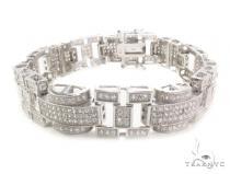 CZ Silver Bracelet 36138 Sterling Silver Bracelets