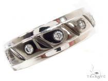 Bezel Diamond Wedding Ring 36201 Style