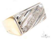 Bezel Diamond Wedding Ring 36204 Style