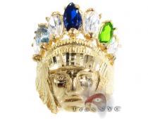 Native American Ring Mens Gold Rings