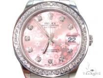 Ladies Diamond Rolex DateJust 31 ロレックス レディース