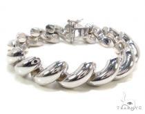 Twist Silver Bracelet Sterling Silver Bracelets