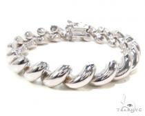 Twist Silver Bracelet 36336 Sterling Silver Bracelets