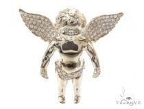 Small Diamond Angel Pendant 36388 ダイヤモンド ペンダント