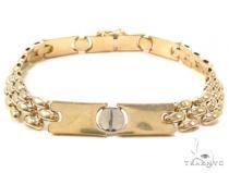 14k Gold Bracelet 36405 ゴールドブレスレット