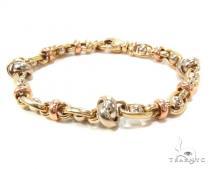 14k Gold Bracelet 36406 ゴールドブレスレット