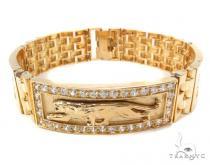 10k Gold Bracelet 36418 Gold