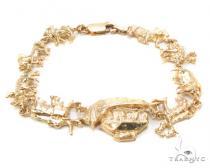 10k Gold Bracelet 36425 ゴールドブレスレット