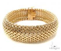 10k Gold Bracelet 36420 Gold
