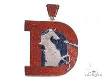 Custom Jewelry - Initial D Pendant シルバーペンダント