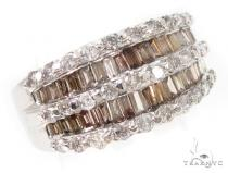 Champagne Prong Diamond Ring 記念日用 ダイヤモンド リング