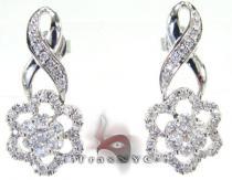 Star Earrings 3 レディース ダイヤモンドイヤリング