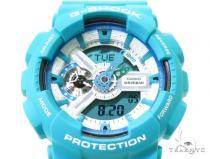 Casio G-Shock Analog Digital Teal Watch GA110SN-3A G-Shock