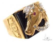 CZ 10K Gold Ring 36800 Metal