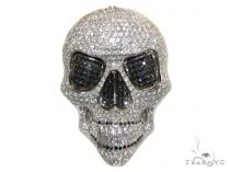 Iced Out Skull Head Pendant Diamond Skull Pendants