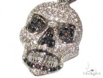 Mini Skull Head Diamond Pendants