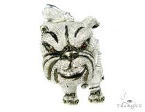 Mad Dog Pendant Metal