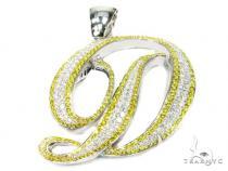 Canary D Pendant Diamond Pendants
