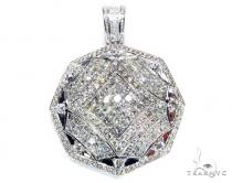 8 Stone Solitaire Pendant Diamond Pendants